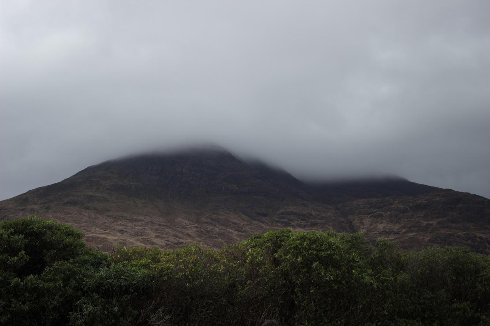 ben buie mist hill scotland isle of mull