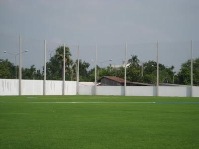 ตาข่ายสนามฟุตบอล24 สนามซ้อมสุพรรณบุรี FC 3