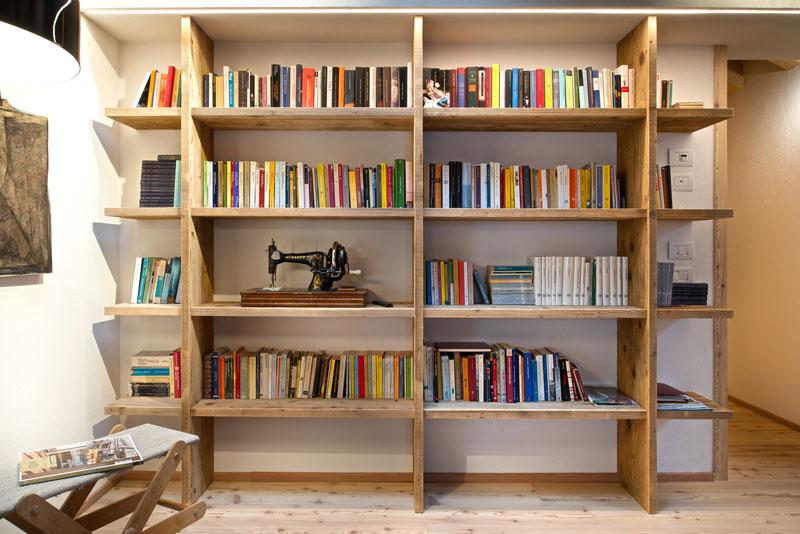 Libreria - Realizzazione Tablè Tisleri di Mobart Ben