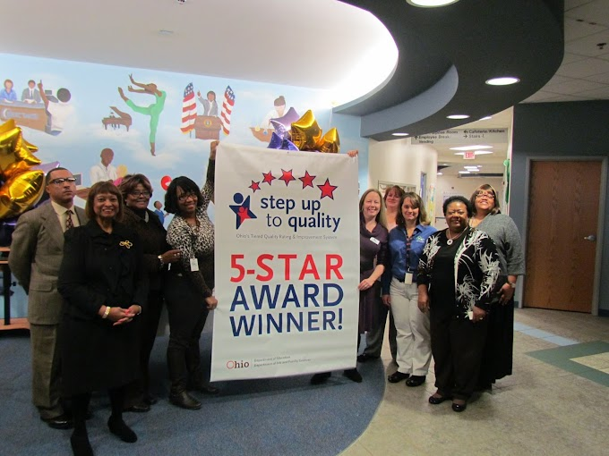 Cincinnati-Hamilton County Head Start Life Learning Center at CAA Awarded 5 Star Quality Rating