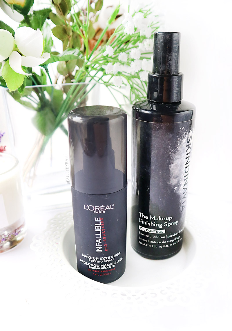 How To Make Foundation Last Longer For Oily Skin Setting Spray Loreal Infallible