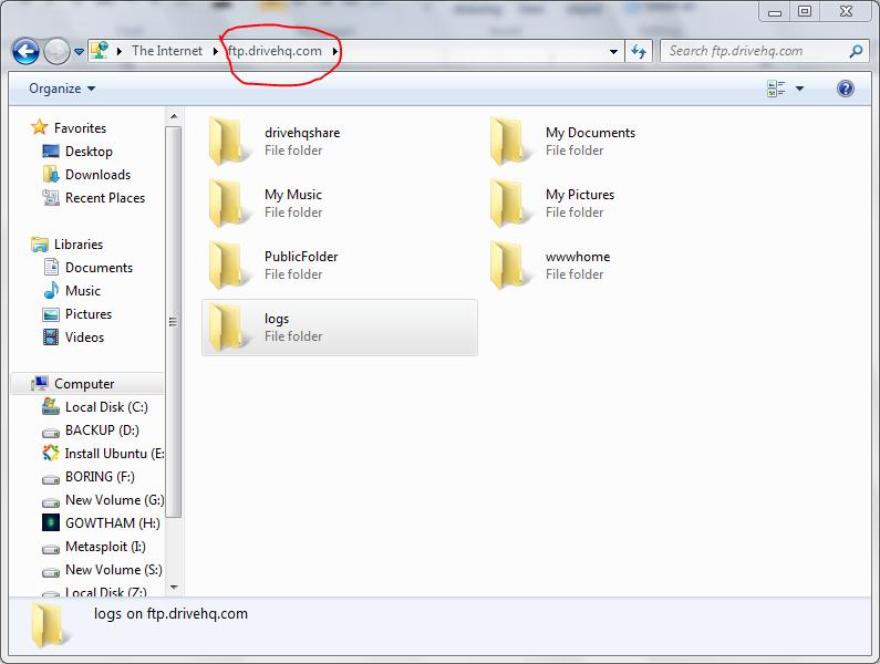 Use Windows Explorer as a ftp client | HackToHell