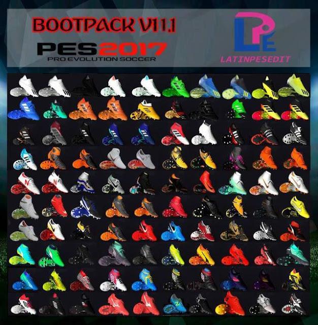 New Bootpack Season 2019 PES 2017