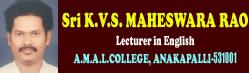 K.V.S.Maheswara Rao