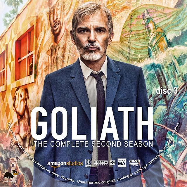 Goliath Season 2 Disc 3 DVD Label