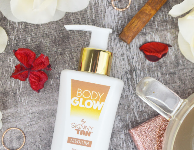 Skinny Tan Body Glow Gradual Moisturiser in Medium, Lovelaughslipstick Blog