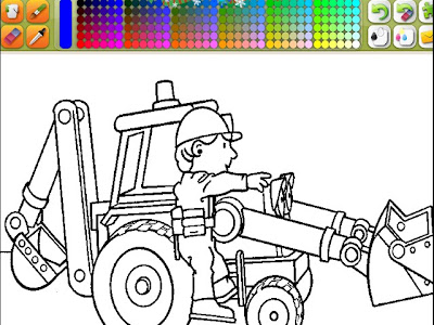 Desenhos De Maquinas Pesadas Para Colorir As Maquinas Pesadas