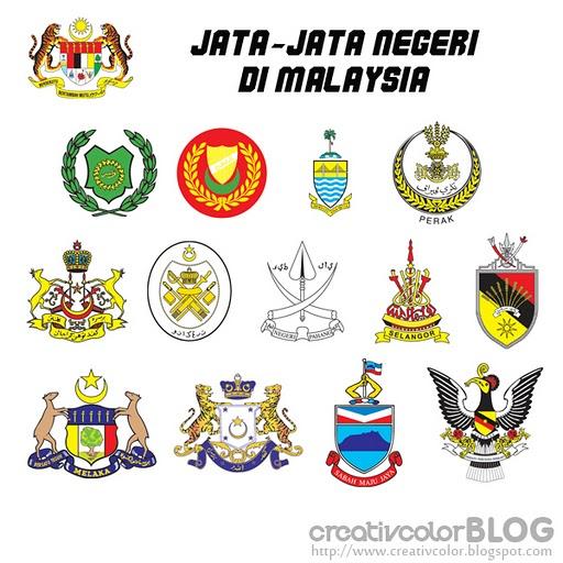 Free Vector Peta Malaysia Dan Jata Negeri Bighandesign Perkongsian Percuma Vector Dan Info Graphic Design