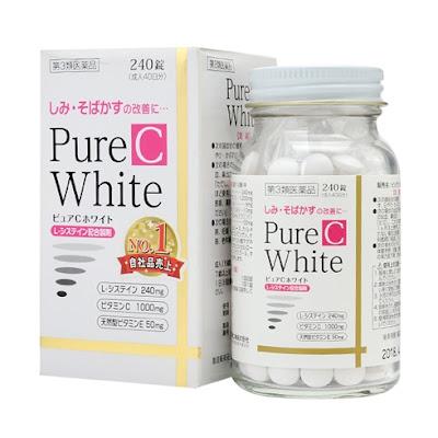 Cách sử dụng viên uống pure white Nhật an toàn hiệu quả