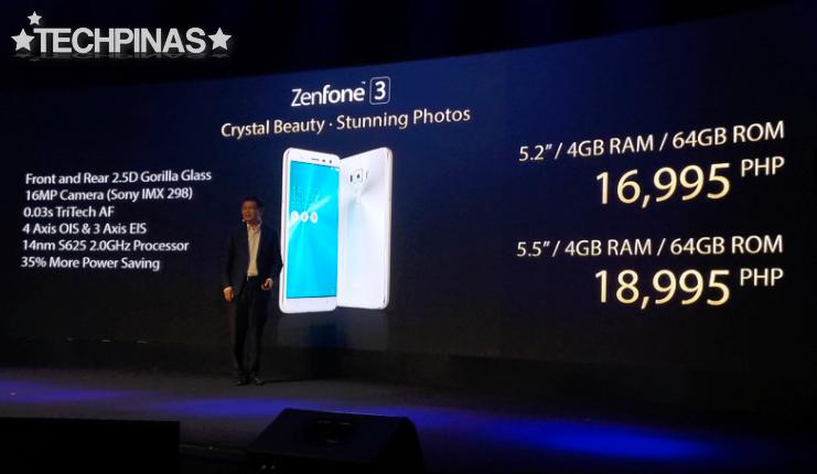 Asus ZenFone 3 Price