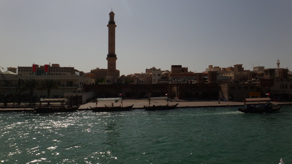 Passeio de barco em Dubai