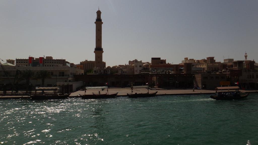 Passeio de barco em Dubai Creek