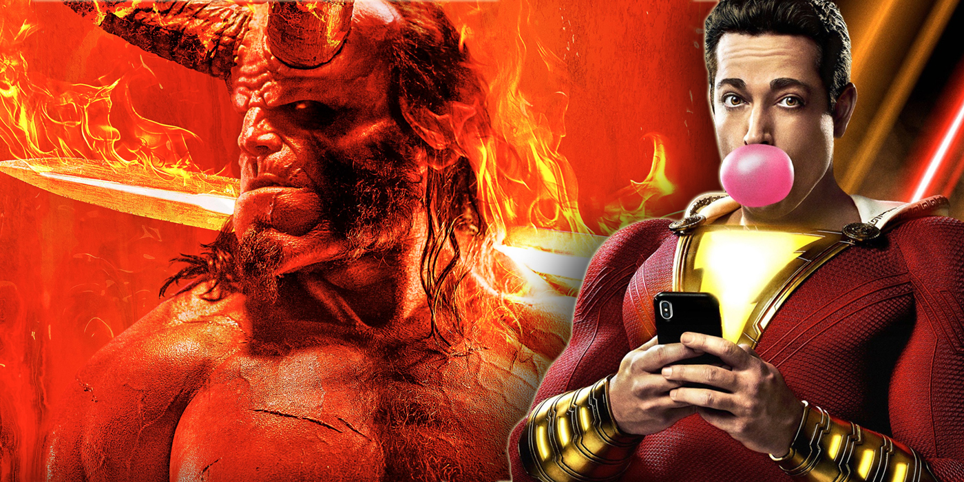 Box Office Battle: Shazam! To The Top! Hellboy Flops!