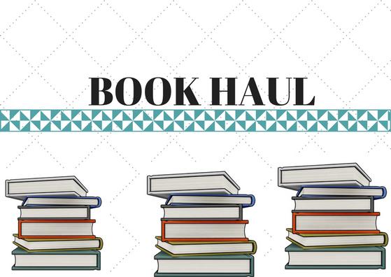 BOOK HAUL - czyli moje nowe czytelnicze zdobycze