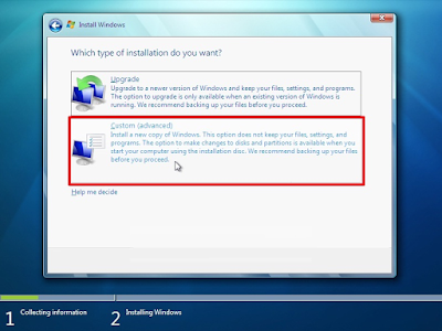 Cara install windows 7 dengan flashdisk terbaru dan disertai gambar