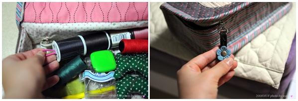 Storage bag sewing tools sewing handicraft supplies. Сумочка для хранения швейных принадлежностей.