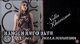 Lirik Lagu Kangen Kutho Batu - Nella Kharisma