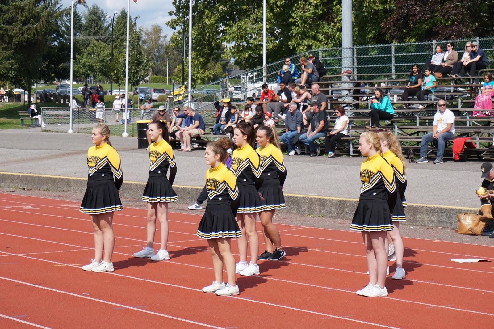 NSMF Senior Cheerleaders