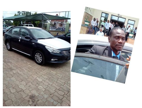 Man gets a car for returning N53m mistakenly deposited into his account by the government