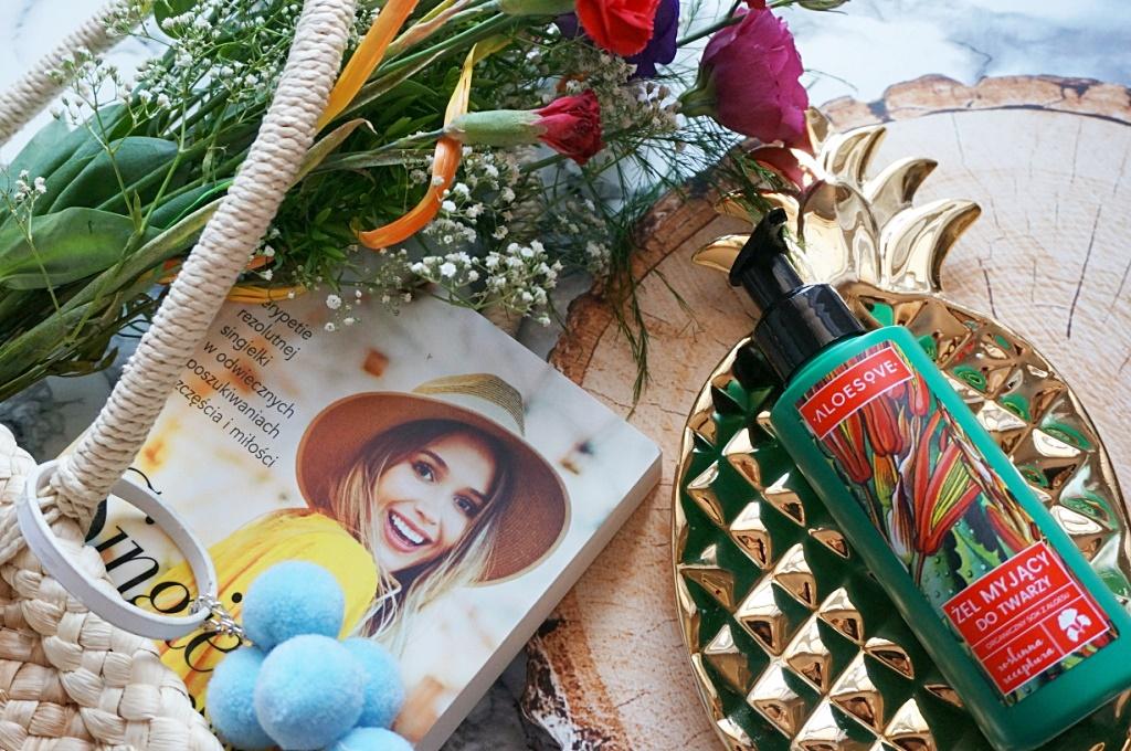 Aloesove żel myjący do twarzy pielęgnacja naturalny kosmetyk