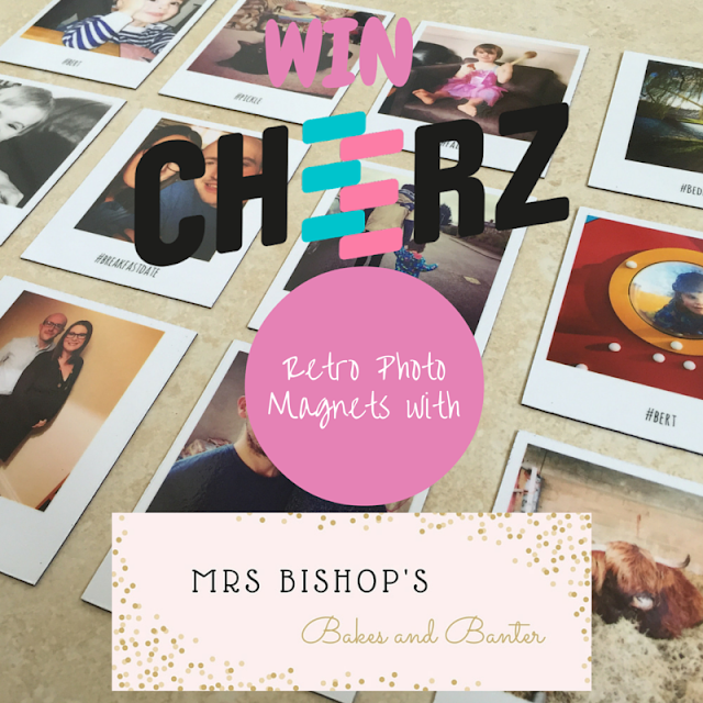 Win Retro Photo Magnets