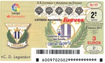 loteria nacional jueves 2 febrero de 2017