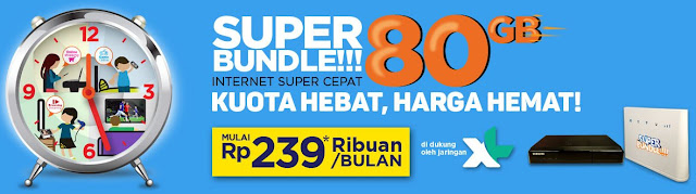 MNC Vision Internet - Super Bundle XL 80GB