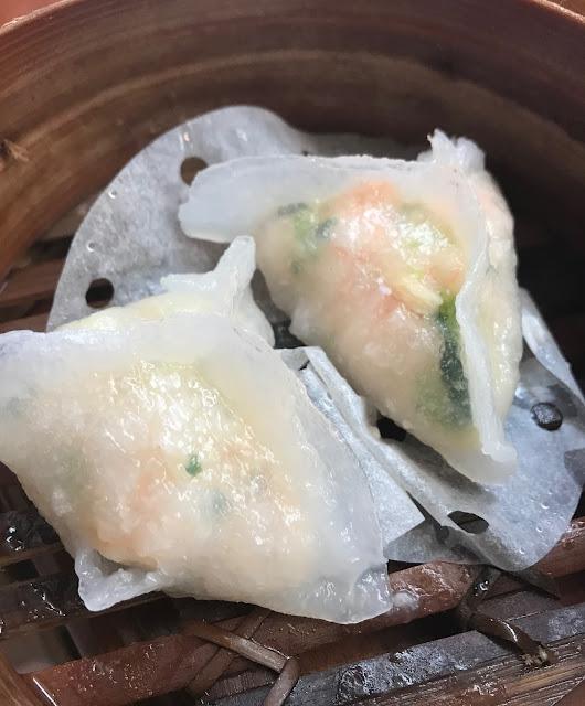 Secret Kitchen Express, Doncaster, coriander seafood dumplings
