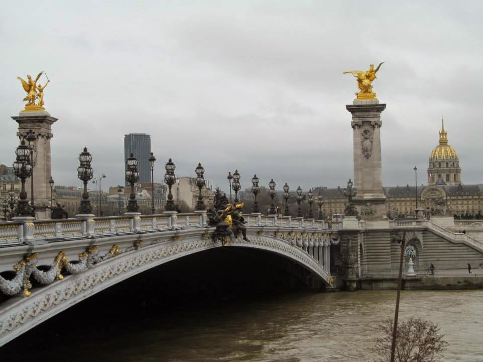 bridge view paris