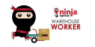 Lowongan Kerja Warehouse Worker NINJA XPRESS