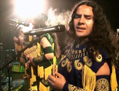 Foto de Alborada cantando en concierto