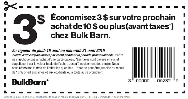 Bulk barn coupons november 2018