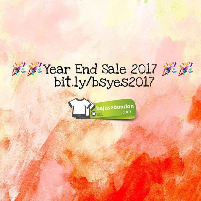 Promosi Year End Sale 2017