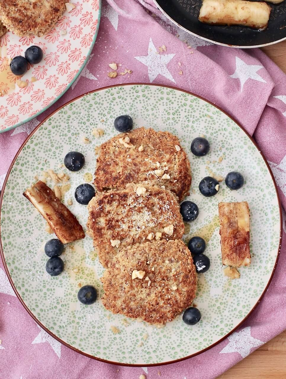 Rezept für Mandelpancakes