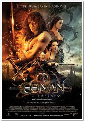 Sessão Filmes: Conan, O Bárbaro.