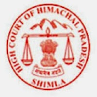 High Court Of Himachal Pradesh, freejobalert, Sarkari Naukri, HP High Court, HP High Court Admit Card, Admit Card, hp high court logo