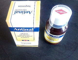أنتينال Antinal مطهر معوي لعلاج حالات الجفاف والإسهال