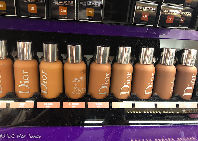 Dior Backstage Face and Body Foundation | bellanoirbeauty.com