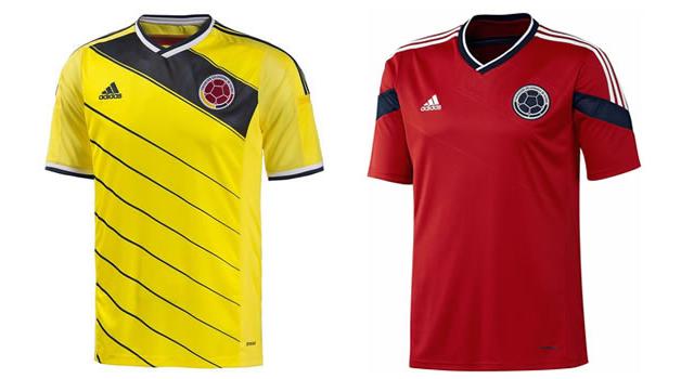 Camisetas selección Colombia Mundial 2014