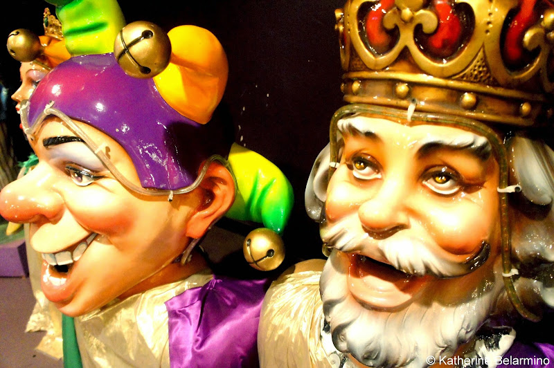 King and Jester Props Mardi Gras World New Orleans