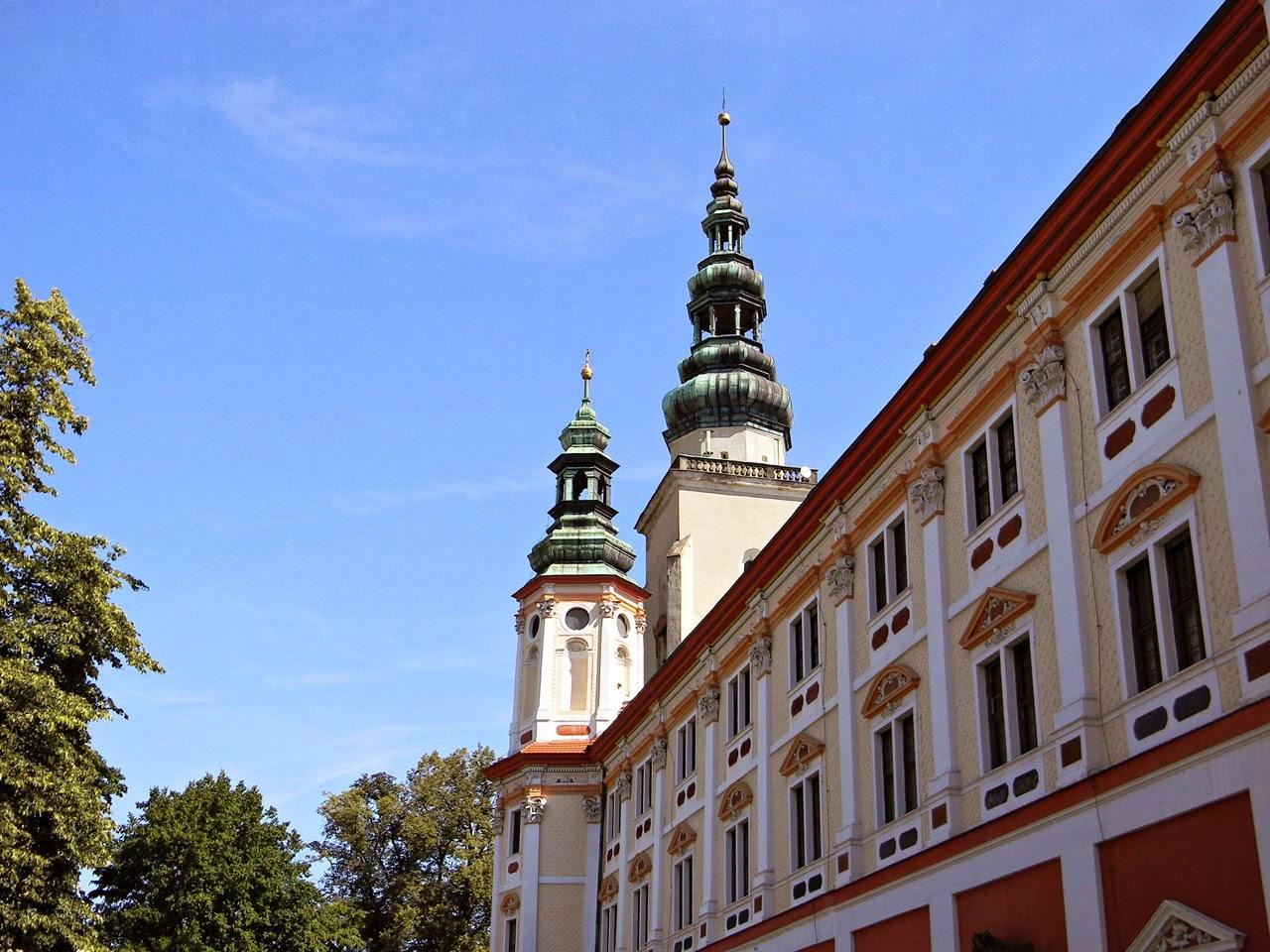 Henryków, klasztor, cystersi, kościół