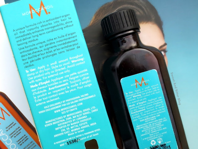 Moroccan Oil Treatment (Alcohol-Free) Ingredients Review