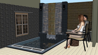 Water wall dan kolam ikan koi | jasataman.co.id