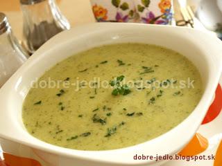 Zelerovo-brokolicová polievka - recepty