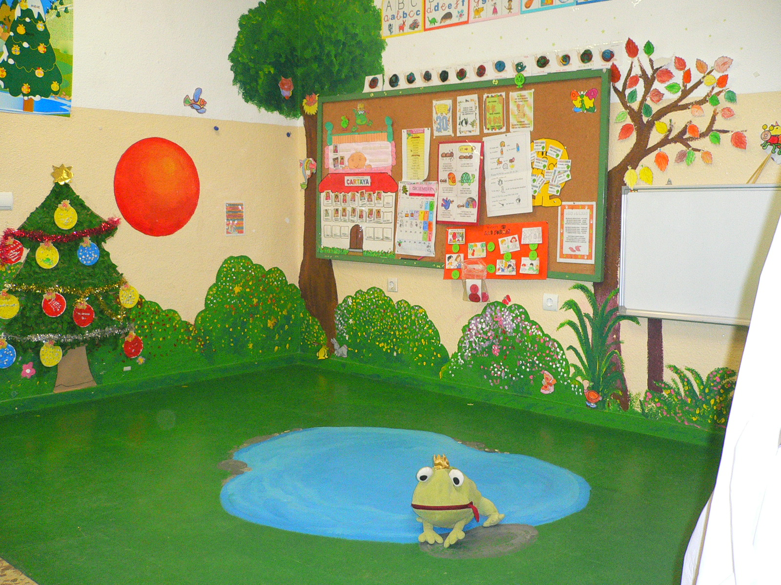Aventura diminuta carteles para la clase los primeros for Un mural facil de hacer