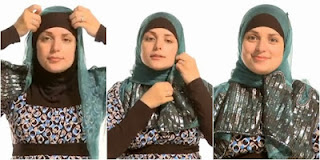 Tutorial Hijab Gaya 5