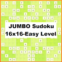 Online 16x16 Jumbo Sudoku Puzzle Online