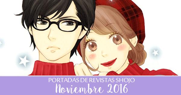 Portadas de Revistas Shojo: Noviembre 2016