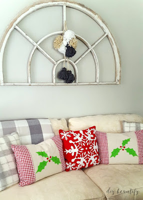 Christmas pillow wraps