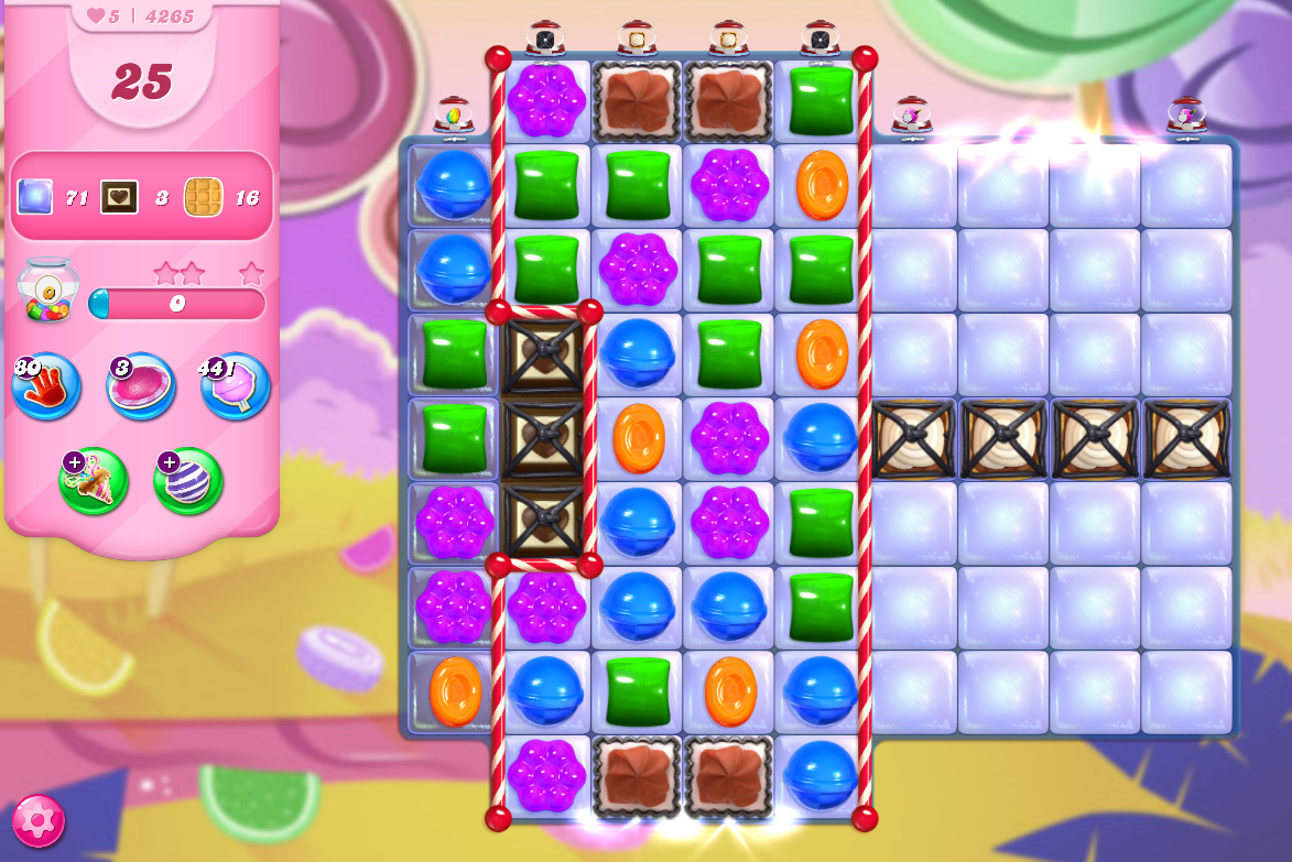 Candy Crush Saga level 4265